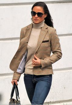 I don't usually like preppy British countryside tweed, but this is cute!