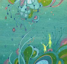 """Waterwalk"" by Aaron Piland, Ayumi Piland, Betsy Walton, Jill Bliss, Yellena James"