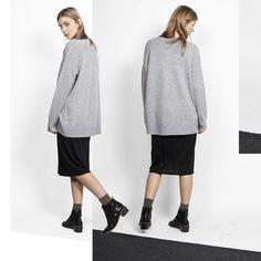 XMAS LOOK #anglestore #look #inspiration #woman #simplicity #design #fashion #gift #grey #xmas #minimal #xmasgift