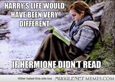 Hermione was an avid reader!
