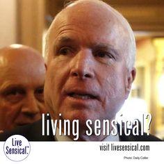 John McCain - Donald Trump - War Hero? - Living Sensical?