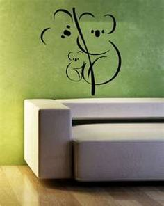 Koala Family love that Koala Tattoo, Animal Drawings, Art Drawings, Australia Tattoo, Cover Tattoo, Aboriginal Art, Fabric Painting, Line Drawing, Line Art