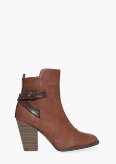 Sahara Booties in Tan | Necessary Clothing