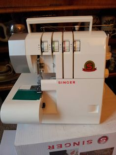 Singer 14SH754   Hello!   This post is about the Singer Overlocker 14SH754 which is sold by Lidl, in several European countries. In th...