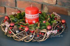stroiki bożonarodzeniowe na wianku - Szukaj w Google