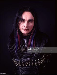 Cradle Of Filth Vocalist Dani Filth, portrait, London, United Kingdom, 2000.