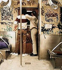 Graffiti In The NY Subways of the 70s & 80s by billy craven, via Flickr