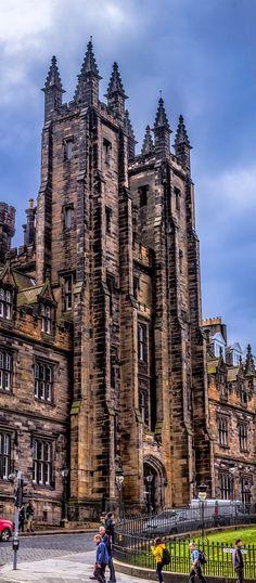 Church of Scotland on the Mound, Edinburgh, Scotland. by Jim Hutcheon on 500px