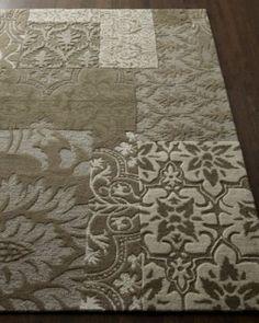 interesting rug