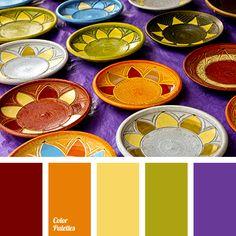 Color Palette  #1787