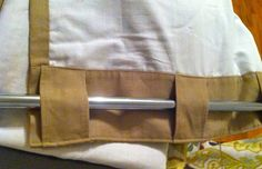 Decorella: How to Make Curtains from a Bed Sheet