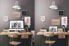 Workspace Mockup Set 1 by Best Pixels on @creativemarket