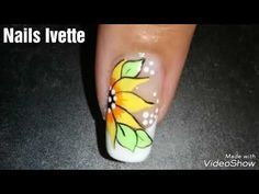 Diseño de flor fácil de hacer - YouTube Hair Beauty, Tattoos, Nails, Youtube, Free, Classy Nails, Polish Nails, Finger Nails, Tatuajes