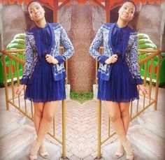 Pokello Nare | Work Fashion, Fashion Prints, Star Fashion, Unique Fashion, Fashion Outfits, Men's Fashion, African Dresses For Women, African Attire, African Wear