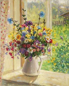 Курилова О.В. Цветы на окне.