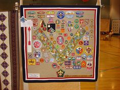 our simple life: Troy's Boy Scout Quilt
