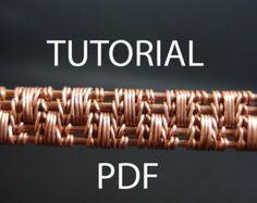 Wire weaving tutorial wire wrapped jewelry by MargoHandmadeJewelry