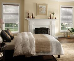 Zebra horizontal sheer shades are manufactured with dual layers of fabric sheer & room darkening bands alternately suspended on a roller for easy operation Automatic Shades, Zebra Shades, Room Darkening Shades, Blackout Shades, Sheer Shades, Horizontal Blinds, Grey Blinds, Faux Wood Blinds, Custom Window Treatments