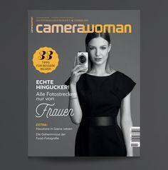 Crowdfunding Projekt '»camerawoman« kommt - DESIGNER IN ACTION #Gründung