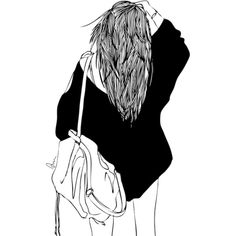 fashion illustration | Tumblr ❤ liked on Polyvore featuring fillers, drawings, doodles, art, backgrounds, text, quotes, outlines, details and magazine