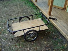 Bicycle cargo trailer--200 lb capacity, $30 for parts