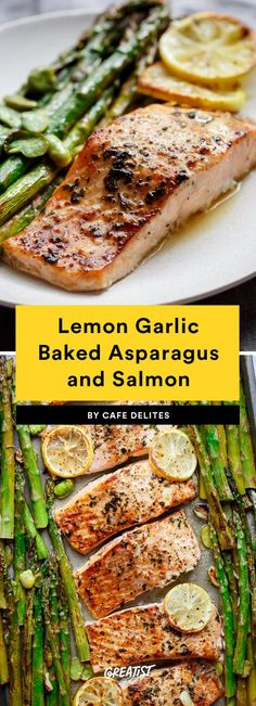 Lemon Garlic Baked A