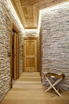 Hidden indirect wall lighting: Draw attention only to the character of the room, not a harsh bulb or fluorescent tube!
