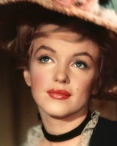 Marilyn photographer by Jack Cardiff, 1956.