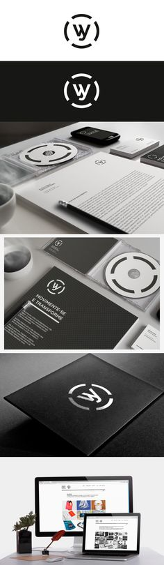 #identity / wesley #branding #stationery #design #marketing