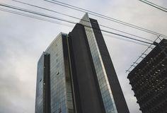 New free stock photo of sky street skyline - Stock Photo