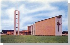 Cedar Falls, Iowa/IA Postcard, Nazareth Lutheran Church in United States > Iowa > Other Cedar Falls Iowa, Waterloo Iowa, Black Hawk, My Family History, Lutheran, Cathedrals, Nostalgia, University, Sweet