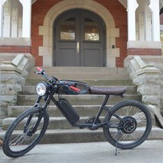 CR-T1 by Tempus Electric Bikes #bike, #electric, #vintage