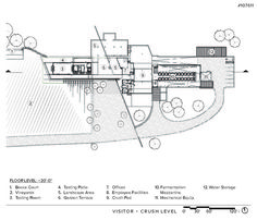 Hdm dominus 3 elcroquis 2692 926 for Winery floor plans by architects