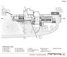 Dominus winery detail szukaj w google pinterest for Winery floor plans by architects