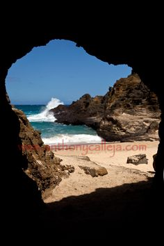 Cave at Eternity Beach. We had a romantic photo shoot in this cave. Love this beach!
