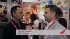 CEO Veejay Lingiah of Flashsticks talks about his product