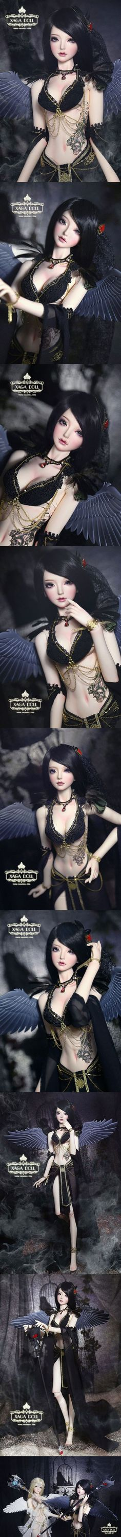 BJD Limited Item Black Angle Zenobia Girl 65cm Ball-Jointed Doll_58 ~65cm doll_XAGA DOLL-_DOLL_Ball Jointed Dolls (BJD) company-Legenddoll