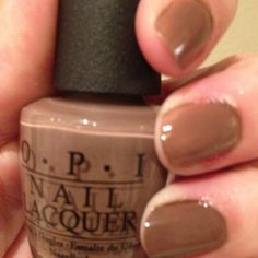 OPI Over the Taupe-- I like it!
