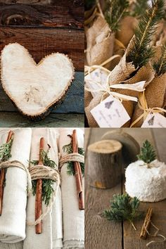 winter wedding decorations tree rosemary