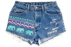 adorable tribal shorts