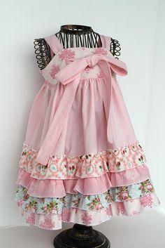cute ruffle dress!