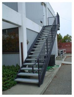 Best Impressive Metal Pan Stairs Porches Pinterest Steel Stairs Concrete Stairs And Stair Treads 400 x 300