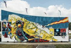"DEIH - ""Don't wake the dreamer"" for Lollapalooza / Urban Nation Berlin, Germany -"