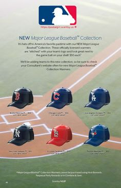 b21fab74a Scentsy Major League Baseball Warmers 2015. Hit a Home Run when you  purchase these new