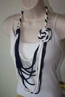 Upcycled T Shirt Necklaces