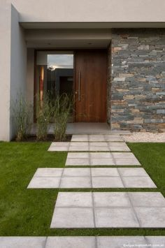 Door Design, Exterior Design, Interior And Exterior, Front Door Entryway, Villa, House Elevation, Outdoor Living, Outdoor Decor, Facade House