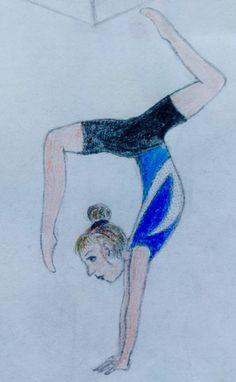 Indila dessin crayon drawing drawings - Dessin gymnaste ...