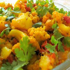 - Indian Vegetarian Food And Recipes - Aloo Gobi Recipe