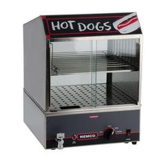 Nemco 8300220 14 Hot Dog Steamer w Low Water Indicator *** Check out the image by visiting the link. (This is an affiliate link)