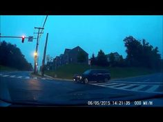 Accident 16June2016 0530H Video from dash cam of an accident on 16 June 2016 @  0530h. The drive of a Ford Flex ran the red light and hit me on my rear driver side. As you can clearly tell driver tried to deny him running the red light. However once I tell him I have a dash cam he changes his story.